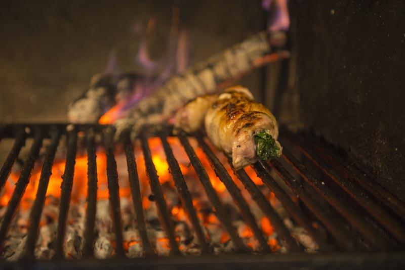 Barbecue involtino