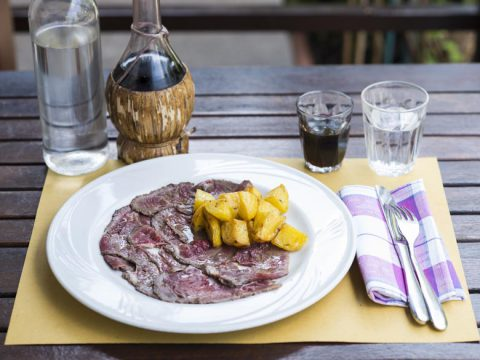 Roastbeef con patate